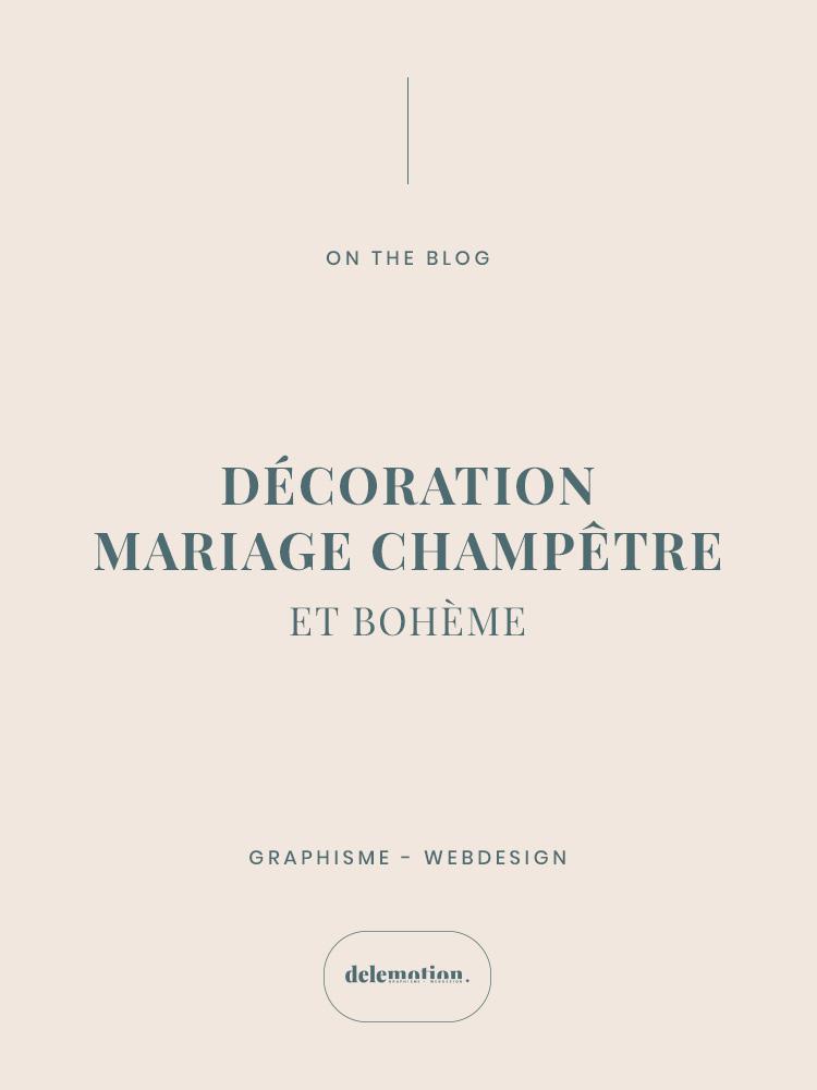 Décoration Mariage Champêtre Delemotion
